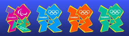 Olympische Spiele 2012 Logos