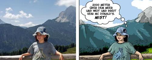 Fotos in Cartoon