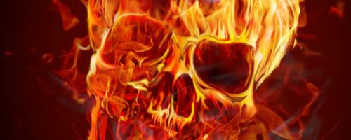 Feuer mit Photoshop