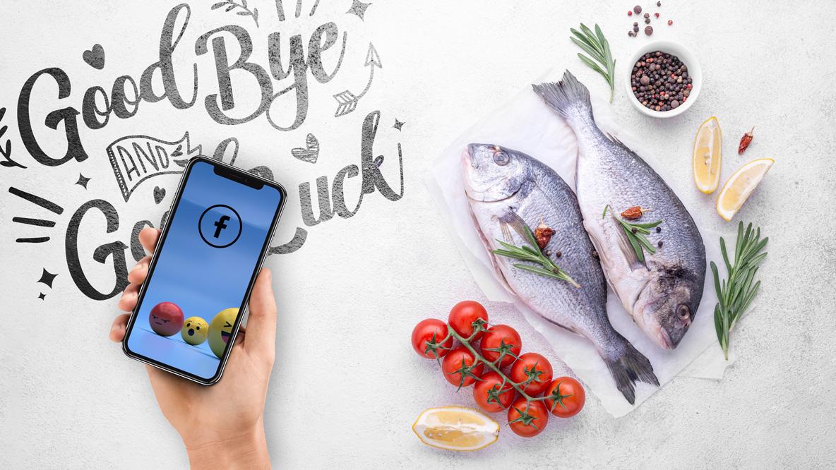 Mach's gut Facebook & Danke für den Fisch
